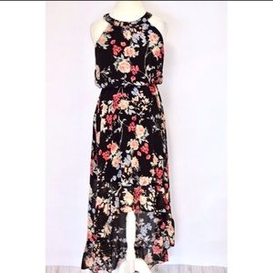 High-Low Floral Dress